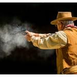 Cowboy with handgun_XS